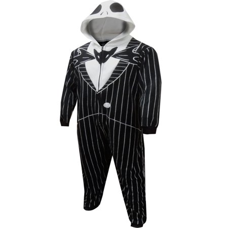 Jack From The Nightmare Before Christmas (Nightmare Before Christmas Men's Nightmare Before Christmas Jack Skellington Onesie Costume)
