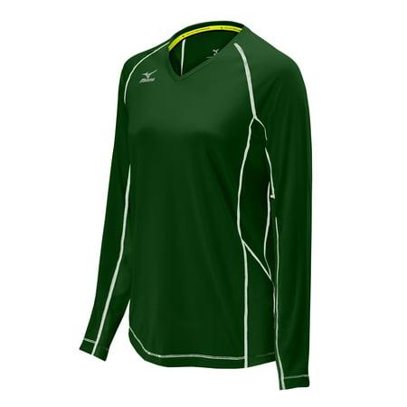 Mizuno Women's Elite 9 Classic Newport Long Sleeve Volleyball Jersey Classic Long Sleeve Jersey