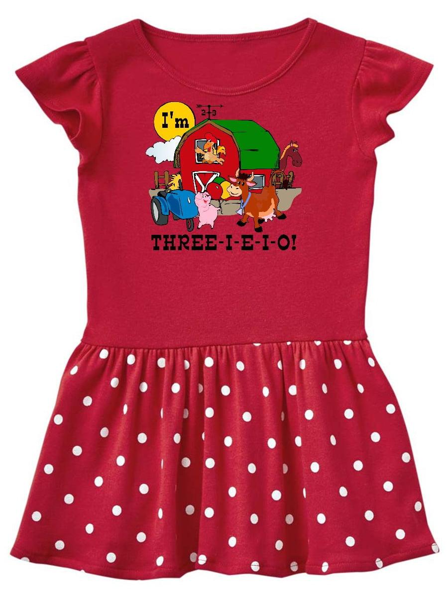 THREE-I-E-I-O Toddler Dress