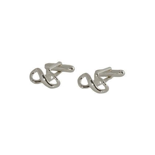 Cuff-Daddy Infinity Cufflinks in Sterling Silver
