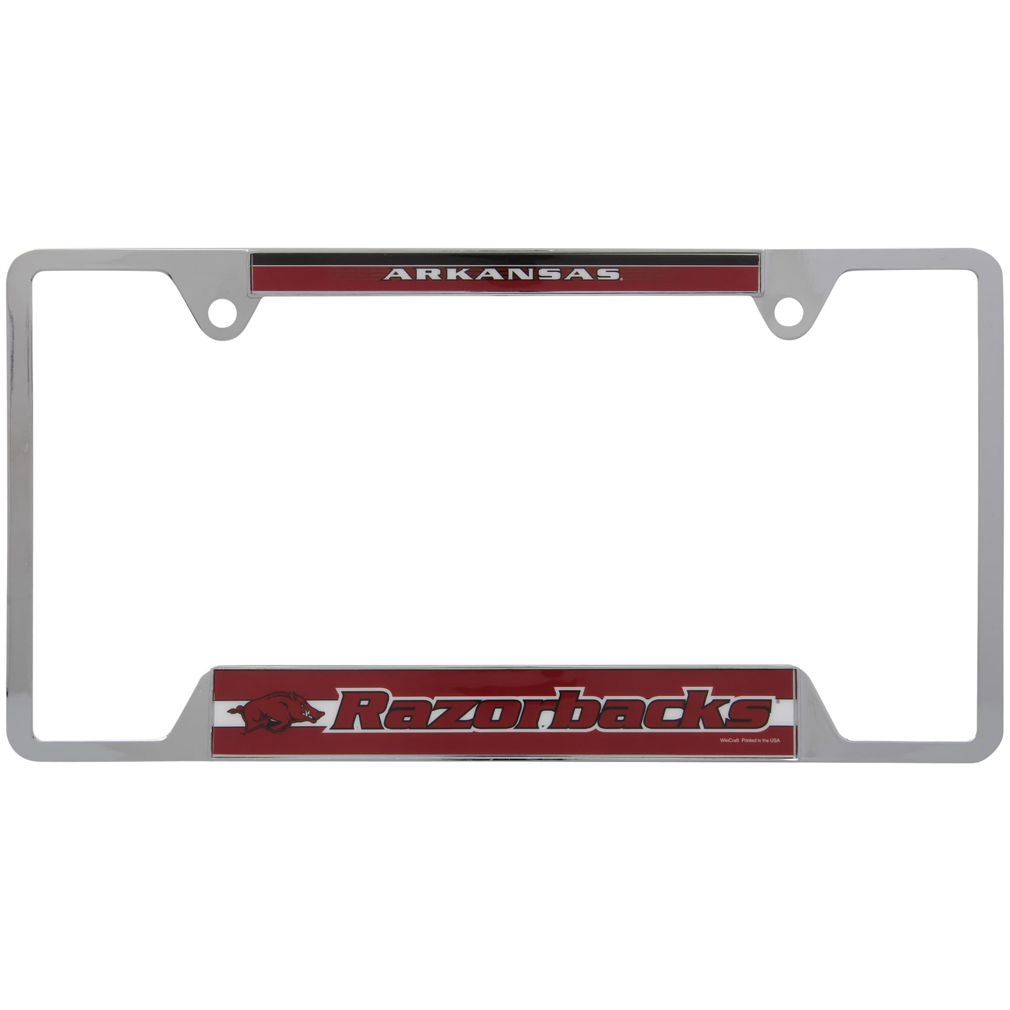 Arkansas Razorbacks Auto License Plate Frame