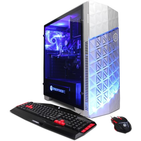 Cyberpowerpc Gamer Xtreme Gxi10220w Gaming Desktop Pc With Intel Core I3 7100 Processor  8Gb Memory  1Tb Hard Drive And Windows 10 Home  Monitor Not Included