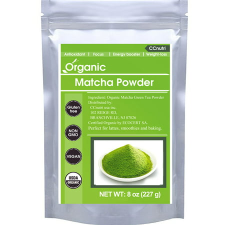 CCnutri Organic Matcha Green Tea Powder 8oz