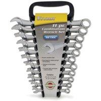 Titan Tools 11-Piece Metric Combo Wrench Set