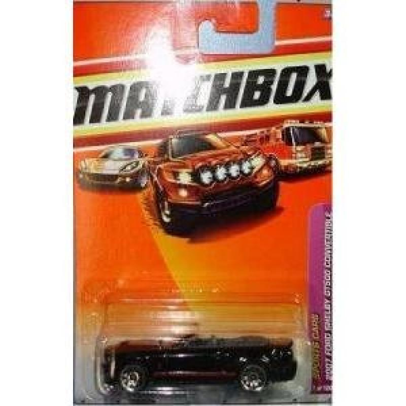 2010 Matchbox Sports Cars 2007 Ford Shelby GT500 Convertible 7 100 by