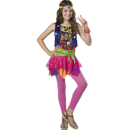 Groovy Girl Girls Child Hippie 80S Chick Halloween Costume](Rocker Chick Costume)