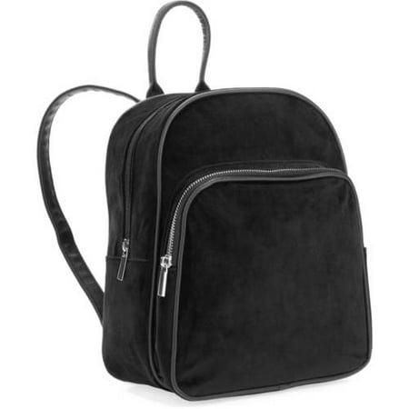 e3549a43e1cd No Boundaries - No Boundaries Velvet Mini Backpack - Walmart.com