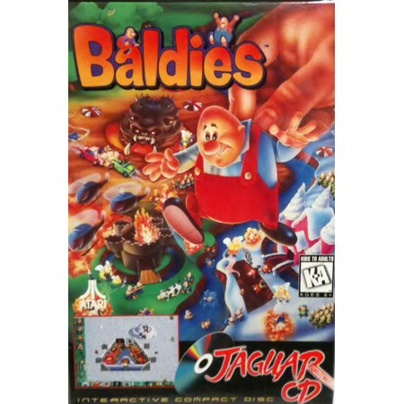 New Atari Jaguar Cd   Baldies