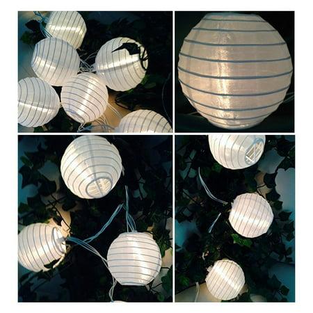 Dico Lantern Solar String Lights Globe Lights String Outdoor String Lights](String Lanterns)
