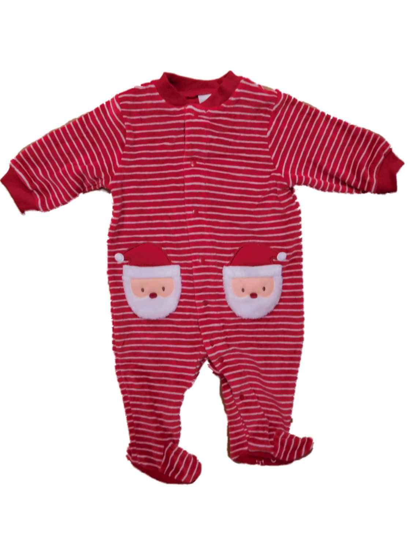 Carters Infant Boys Plush Santa Claus Sleeper Christmas Sleep & Play