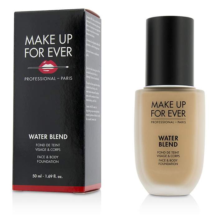 Make Up For Ever - Water Blend Face & Body Foundation - # R330 (Warm Ivory) -50ml/1.69oz
