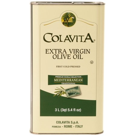 Mediterranean Olive - Colavita Mediterranean Extra Virgin Olive Oil, 101.4 Fl Oz