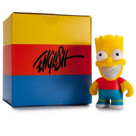 - The Simpsons Kidrobot x Ron English Bart Grin 3