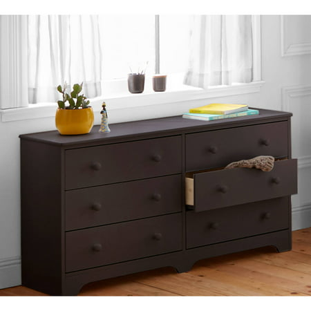 Better Homes And Gardens Kids Pine Creek 6 Drawer Dresser Espresso