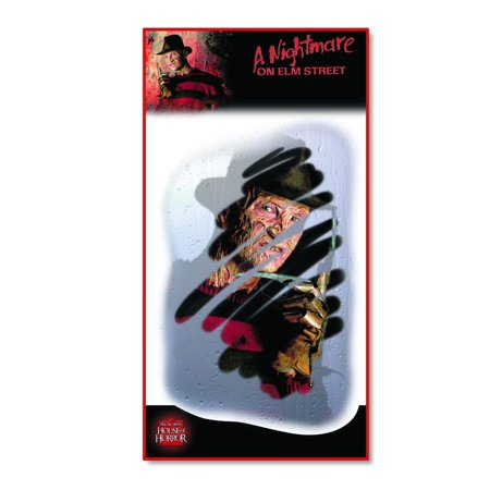 Freddy Glass Grab Misty Face Wall Halloween Decoration