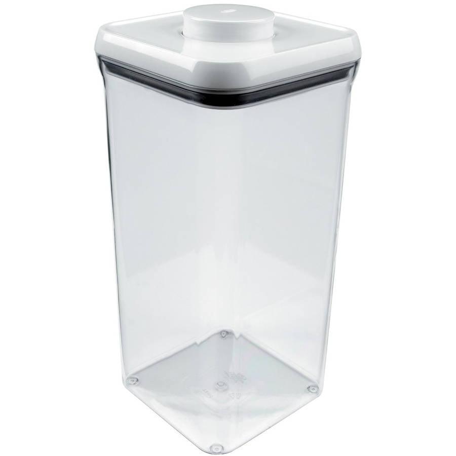 Oxo Good Grips Pop Big Square Storage Container 5 5 Quart