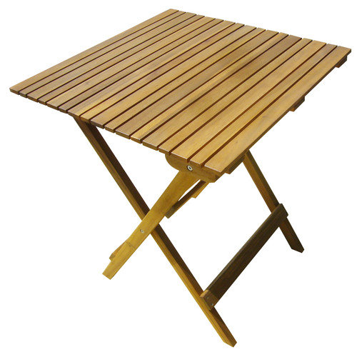 Stockholm Wood Folding Bistro Table