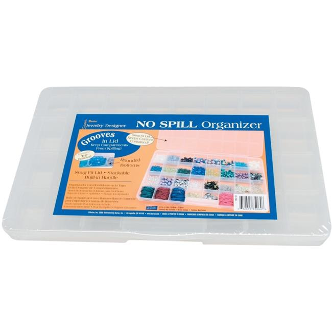 Darice 32-Compartment No-Spill Organizer