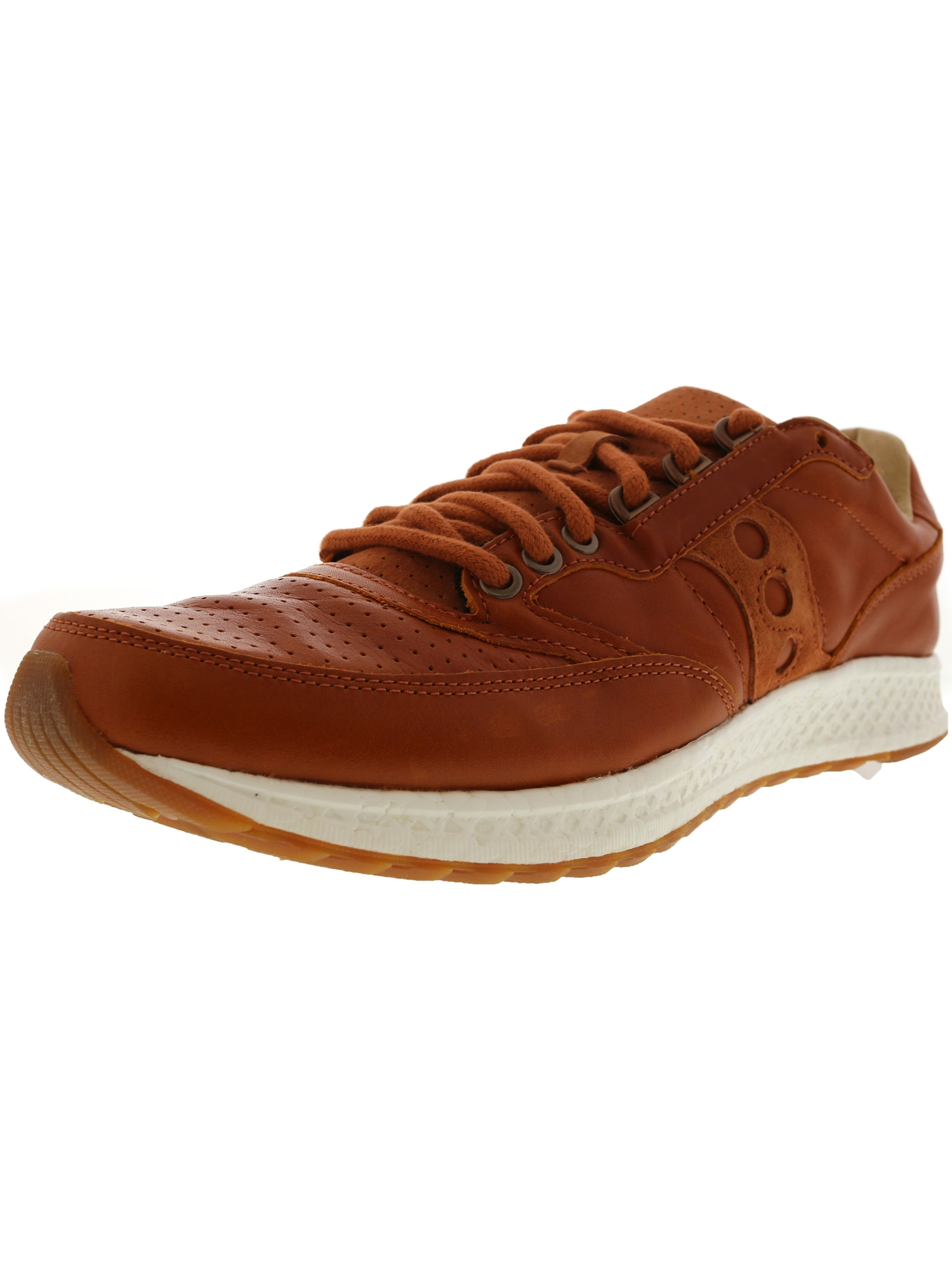 Saucony Men's Freedom Runner Brown Ankle-High Running Shoe - 12M