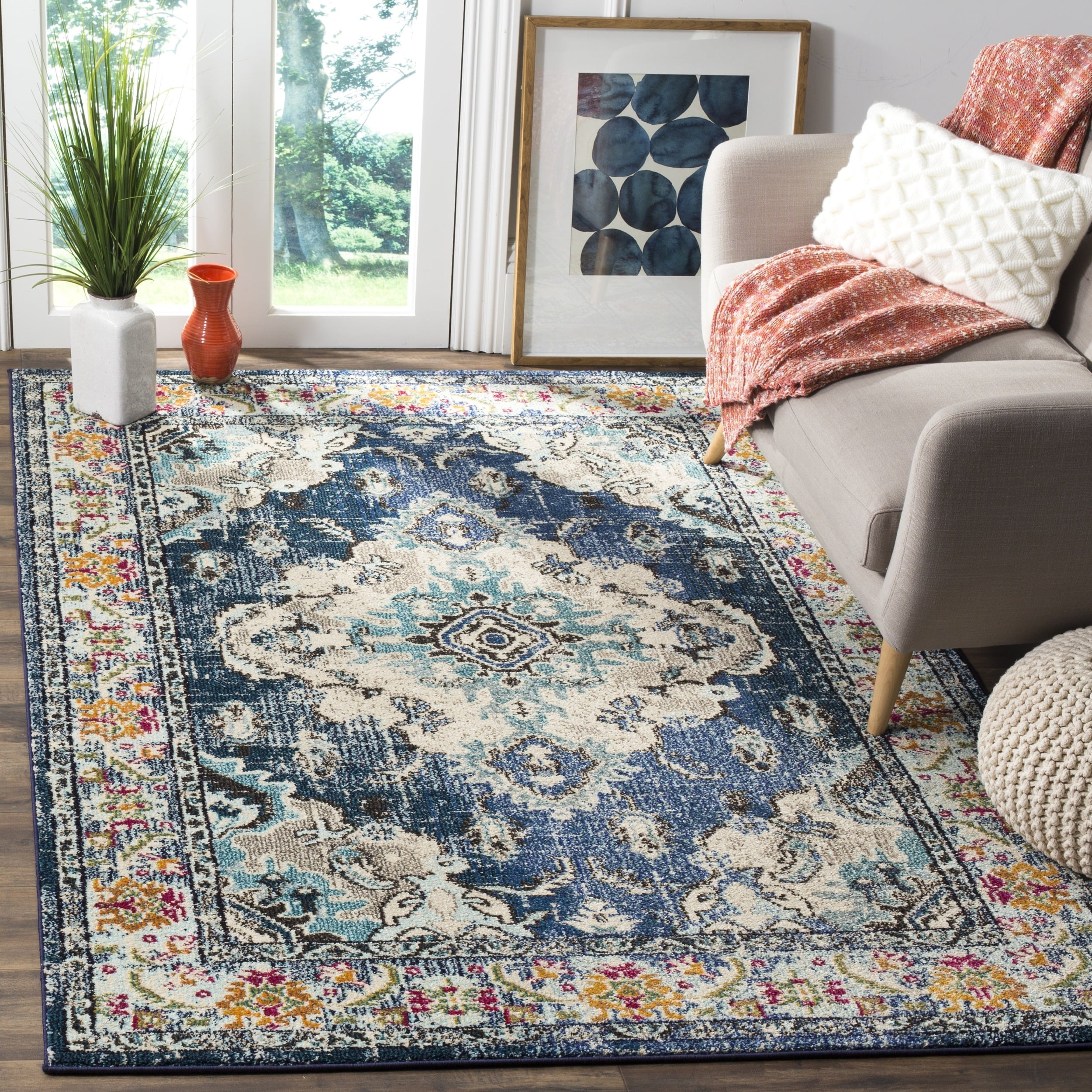 Safavieh Monaco Toria Traditional Area Rug or Runner