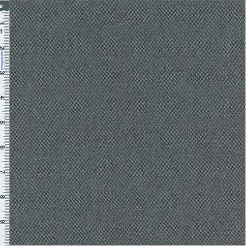 Black Stretch Crossdye Canvas, Fabric By the Yard