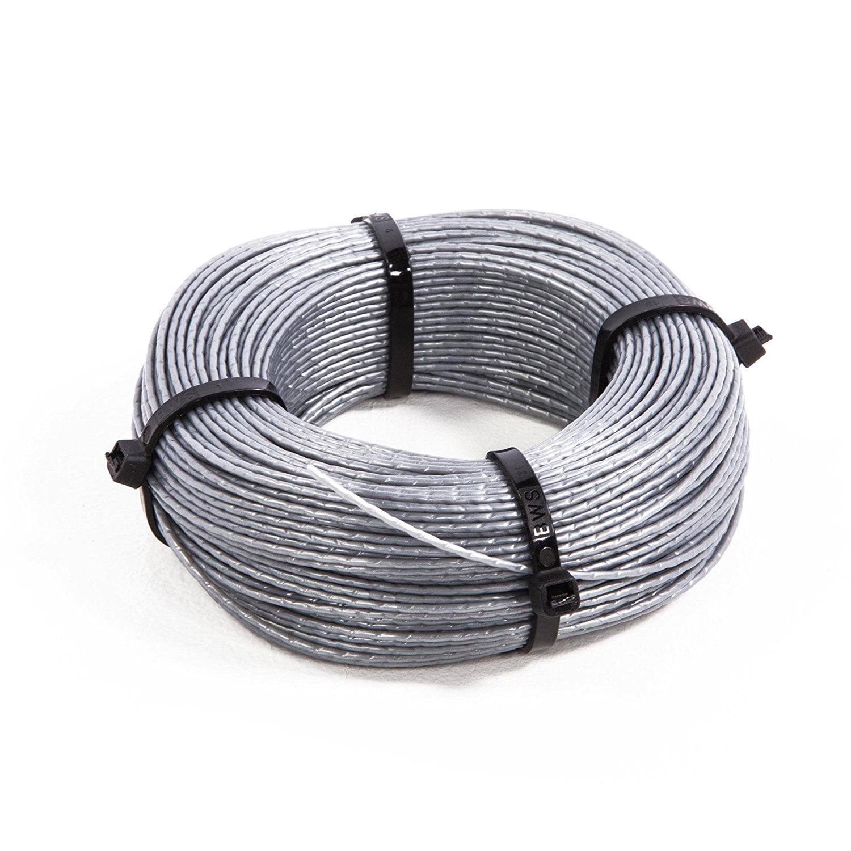 Cutogain 30ft .065 Inch Trimmer Strimmer Cord Line Spools Caps Spring Kit for BLACK DECKER AF-100-3ZP Replacement Strimmer Line Line Grass String Trimmer