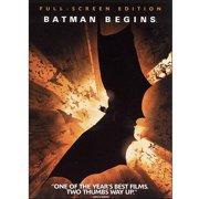Batman Begins [DVD] by WARNER HOME VIDEO