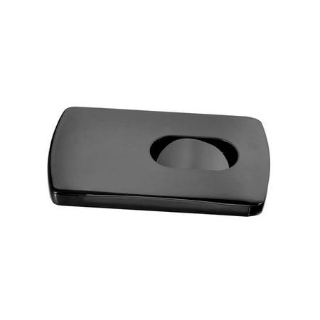f28d1844b29 Stainless Steel Black Stylish Thumb Slide Business Credit ID Card Holder  Holder - Walmart.com