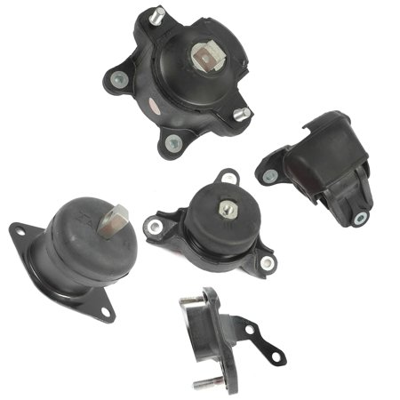 2008-2011 Acura TSX/ Honda Accord 2.4L Engine Motor & Trans. Mount Set 5PCS for Auto Transmission 08 09 10 11 MK4584 MK4570 MK4572 MK4561 MK4565 M286