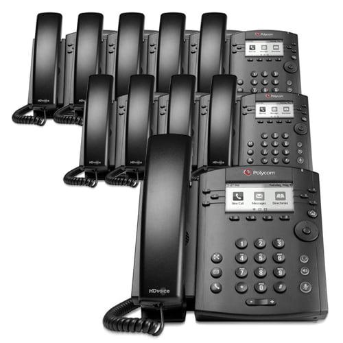 Polycom VVX 310 (10-Pack) Desktop Phone by Polycom