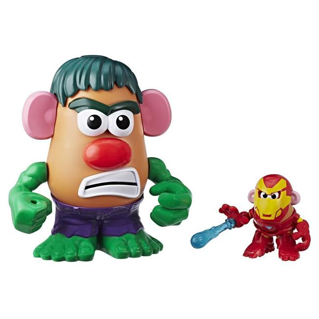 Hasbro HSBE1750 Mr. Potato Head Superagentes P.a.p.a. De Marvel Set of 2 by Hasbro