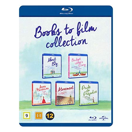 Books to Film 5-Disc Collection ( About a Boy / Bridget Jones's Diary / Anna Karenina / Atonement / Pride & Prejudice ) [ Blu-Ray, Reg.A/B/C Import - Denmark (Bridget Jones 3 Mad About The Boy)