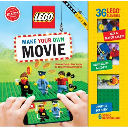 Lego Make Your Own Movie : 100% Official Lego Guide to Stop-Motion Animation - Make Your Own Cupcake