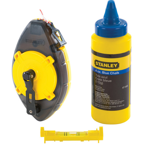 Stanley Hand Tools 47-464 PowerWinder Chalk Box Set