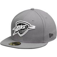 Oklahoma City Thunder New Era 59FIFTY Fitted Hat - Gray/Black