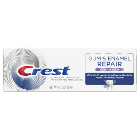 Crest Gum & Enamel Repair Toothpaste, Intensive Clean, (Best Toothpaste For Gum Disease Uk)