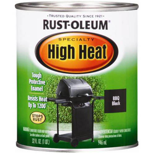 Rust-Oleum Specialty High Heat Quart, Black
