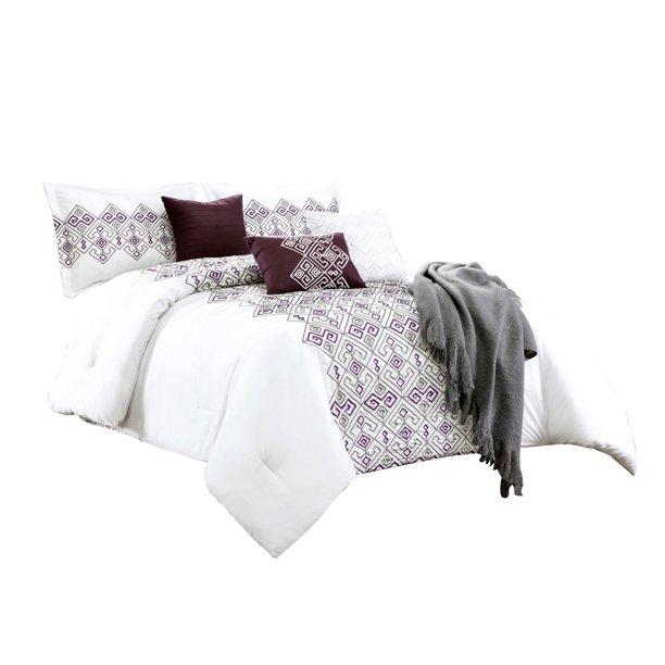 11 Piece Adonis Comforter Curtain Set