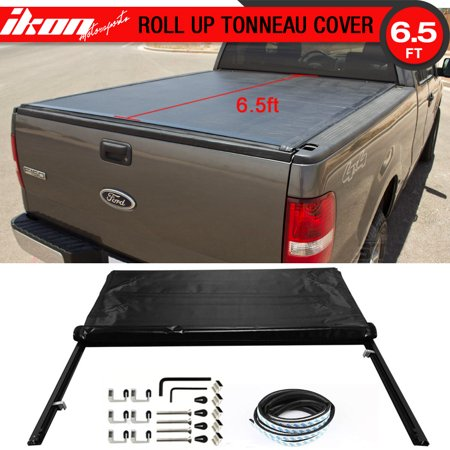 - Fits 04-14 Ford F-150 78 Inch Short Bed Black Roll Lock Soft Style Tonneau Cover