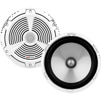 "Boss Audio Systems MR652C White 6-1/2"" 2-Way 350 Watt Individual Marine Speaker"