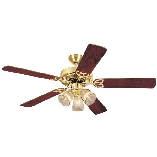 """Westinghouse 7804365 Vintage 52"""" 5 Blade Hanging Indoor Ceiling Fan with Reversible... by Westinghouse"""