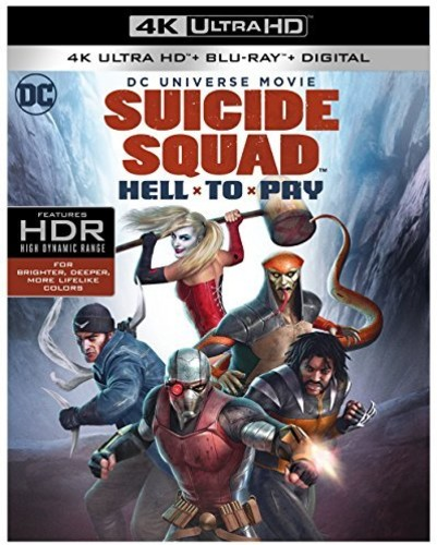 DC Universe Movie: Suicide Squad: Hell To Pay (4K Ultra HD + Blu-ray + Digital)