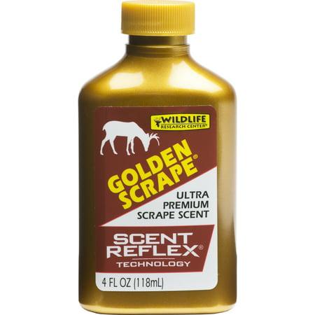 WILDLIFE GOLDEN SCRAPE 4OZ DEER SCENT DISPENSER URINE (Hunting Cover Scent Deer Urine)