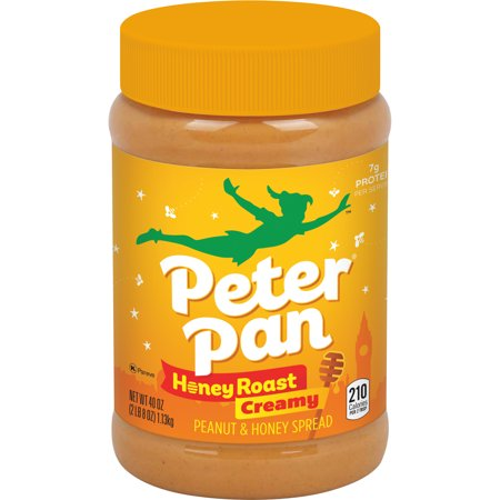 Peter Pan Creamy Honey Roast Peanut Spread, 40 -
