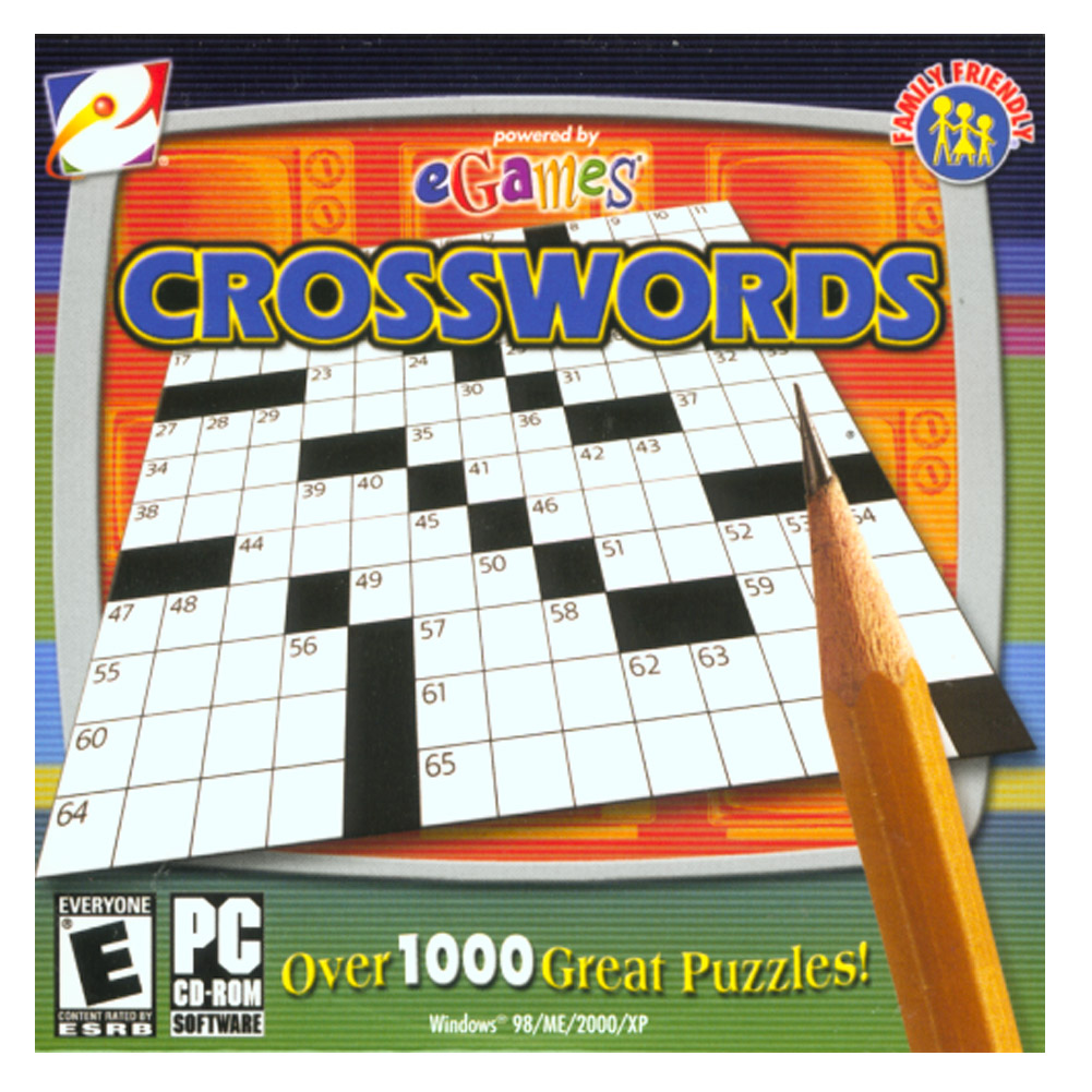 eGames Crosswords for Windows PC (Rated E)