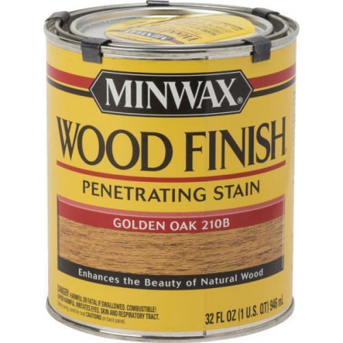 1 Quart Minwax Wood Finish - Golden Oak