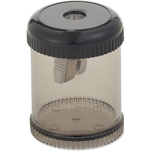 Integra Handheld 1-Hole Pencil Sharpener Canister by Integra