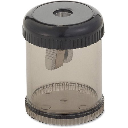 Integra Handheld 1-Hole Pencil Sharpener Canister (Best Classroom Pencil Sharpener)