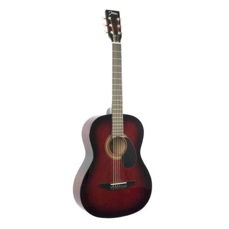 Johnson Acoustic Guitar Review : johnson jg 100 r student acoustic guitar redburst multi colored ~ Russianpoet.info Haus und Dekorationen