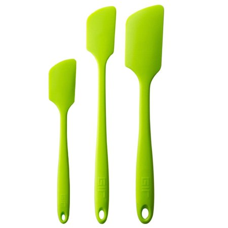 Lime Spatula (GIR Get it Right 3pc Silicone Ultimate, Skinny & Mini Spatula Set - Lime Green)